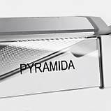 Вытяжка кухонная плоская Pyramida WH 20-60 white (600 мм.) белая эмаль, фото 3