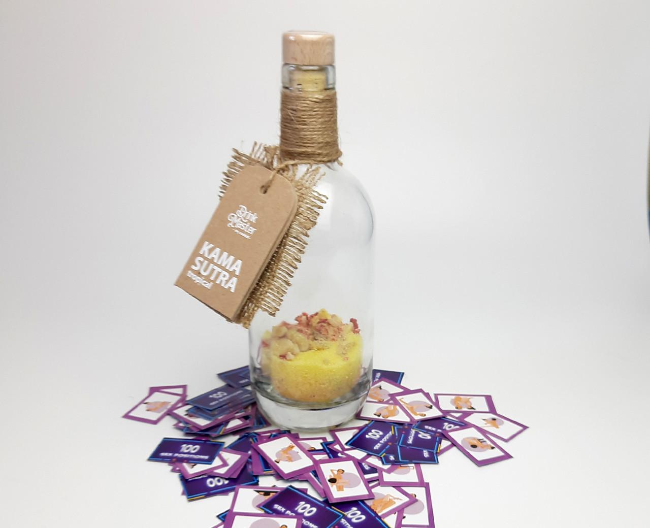 """Суміш для коктейлю Drink Master """"Камасутра"""" - коктейль для любовної вечірки або побачення"""
