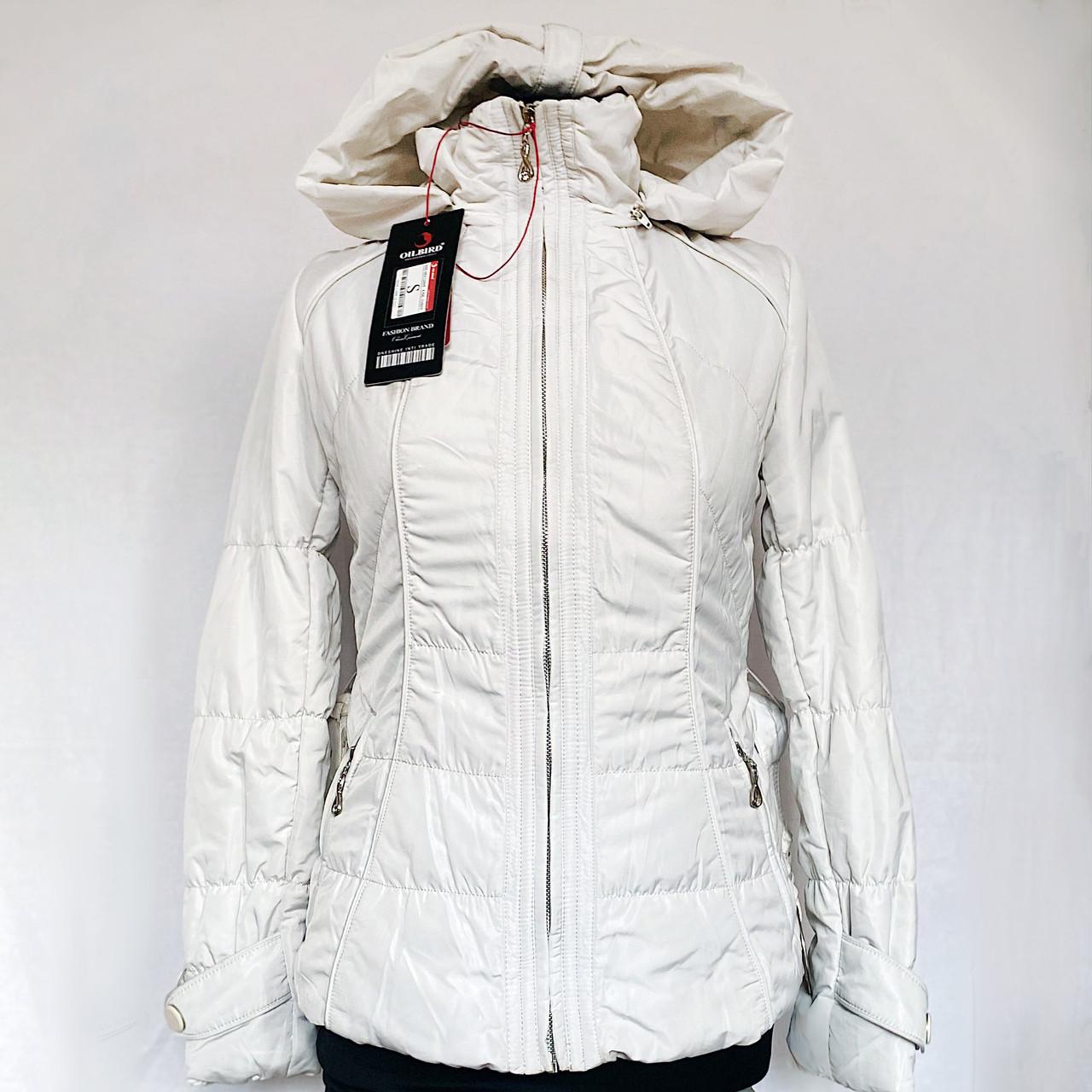 Куртка Фабричная со Съемным Капюшоном. Oil Bird Китай Последний р. S Распродажа