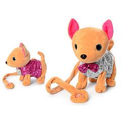 Интерактивная игрушка собака M 4307 Кикки