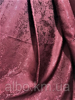 """Тканина на метраж """"пісок"""" бордо, висота 2,8 м (С33-07)"""