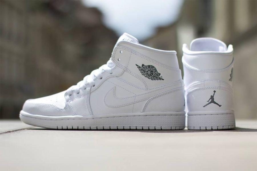 Кросівки жіночі Nike Air Jordan 1 Low WHITE у стилі найк джордан Білі (Репліка ААА+)