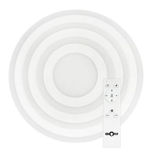Светильник светодиодный Biom SMART SML-R24-80 3000-6000K 80Вт с д/у