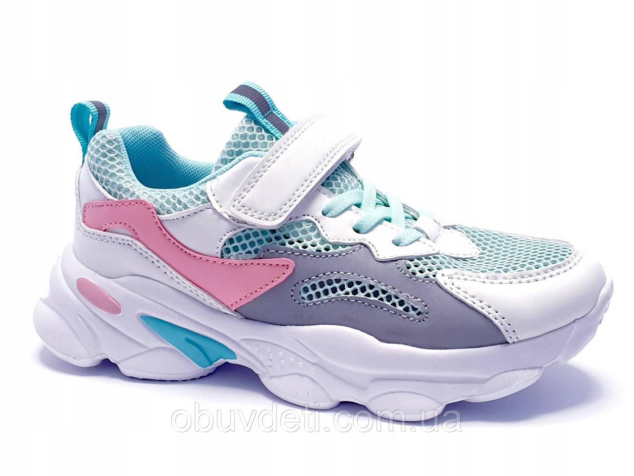 Якісні кросівки для дівчинки american club 35 р-р - 22,5 см