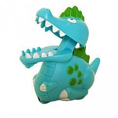Заводная игрушка Динозавр 9829 9 см (Синий)