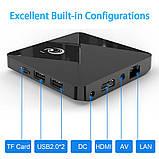 Смарт ТВ-приставка 2 /16 Гб Q1 Ultra HD SmartTV Андроїд Android TV box 4K + клавіатура, фото 10