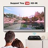Смарт ТВ-приставка 2 /16 Гб Q1 Ultra HD SmartTV Андроїд Android TV box 4K + клавіатура, фото 7