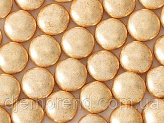Драже Кругле шоколадне в золотий глазурі, 10 мм, стік-пакет, 8 шт