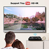 Смарт ТВ-приставка 2 /16 Гб Q1 Ultra HD SmartTV Андроїд Android TV box 4K + пульт Air Mouse G20, фото 7