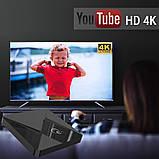 Смарт ТВ-приставка 2 /16 Гб Q1 Ultra HD SmartTV Андроїд Android TV box 4K + пульт Air Mouse G20, фото 8