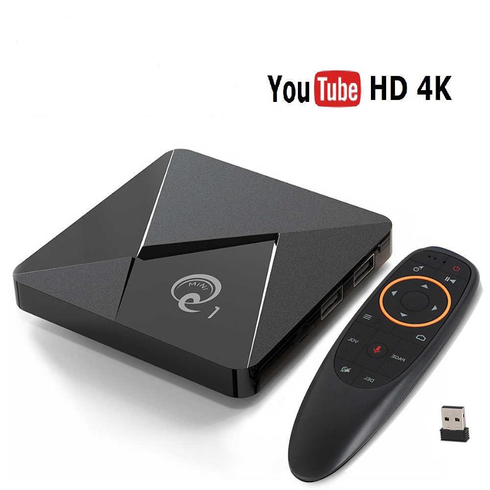 Смарт ТВ-приставка 2 /16 Гб Q1 Ultra HD SmartTV Андроїд Android TV box 4K + пульт Air Mouse G20