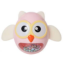 Іграшка-неваляшка G-A027 сова (Рожева)