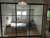 Раздвижные перегородки для зонирования пространства в комнате, фото 1