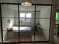 Розсувні перегородки для зонування простору в кімнаті, фото 1