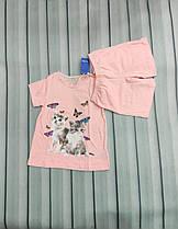 Комплект девочкам для сна, шортики и футболка Lupilu