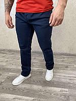 Чоловічі класичні темно сині джинси