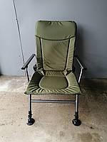 Кресло карповое с подлокотниками (Польша)