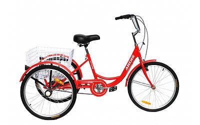 """Триколісний вантажний велосипед Ardis City Line 24"""""""