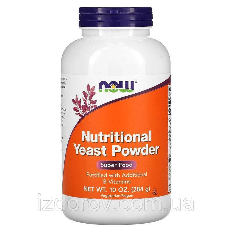 Now Foods, Харчові дріжджі в порошку, Nutritional Yeast Powder, 284 р