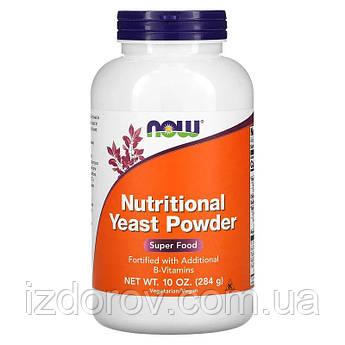 Now Foods, Пищевые дрожжи в порошке, Nutritional Yeast Powder, 284 г