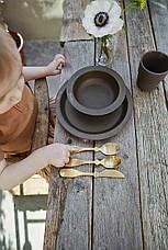 Elodie - Набір столових приладів, колір Gold, фото 2