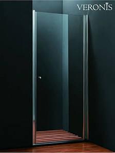 Душевая дверь VERONIS D-5-90 Line 190х90 прозрачное стекло