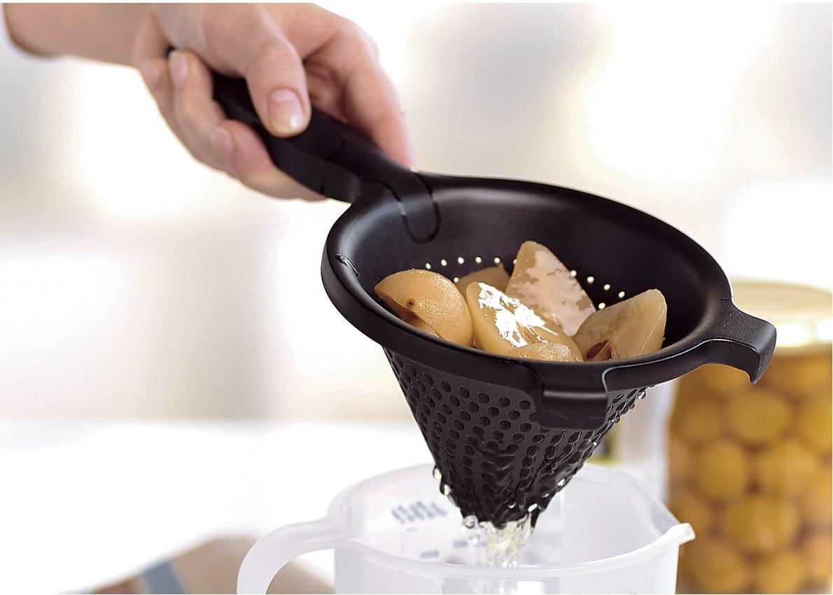 Tupperware сито Шинуа в черном цвете