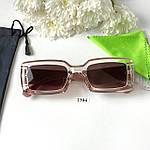 Трендовые солнцезащитные очки в розовой оправе, фото 3
