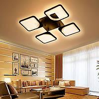 Люстра LED Sunlight Y1107/4 (белая\черная)