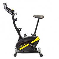Велотренажер для дома магнитный до 125 кг Besport BS-1006B GAINER черно-желтый