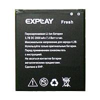 Аккумулятор к телефону Explay Fresh 2000mAh
