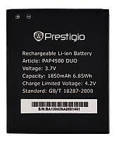 Аккумулятор к телефону Prestigio PAP4500 1850mAh