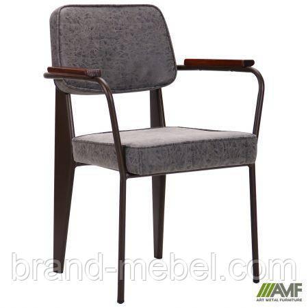 Крісло Lennon кави / бетон