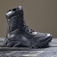 Берци демісезонні / військова тактична взуття АЛЬФА (чорний), фото 1