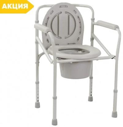 Стул-туалет складной OSD-2110J, стул туалетный, горшок для взрослых, больных