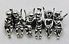 Брошь брошка пин металл ангел серебристая, фото 2