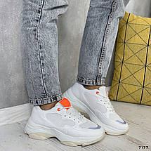 Массивные кроссовки женские 7177 (ММ), фото 2