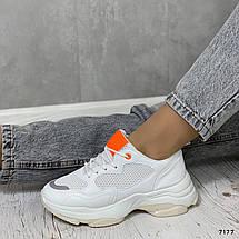 Массивные кроссовки женские 7177 (ММ), фото 3
