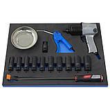 Візок 6 полиць з набором інструменту 230 предметів ANDRMAX, фото 7