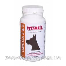 Витаминно-кормовая добавка VitamAll для улучшения шерсти собак с Омега-3 и Омега-6 кислотами