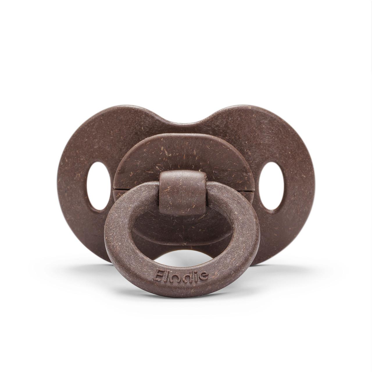 Elodie - Бамбукова пустушка, Chocolate (латекс)