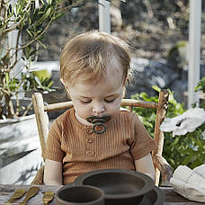 Elodie - Бамбукова пустушка, Chocolate (латекс), фото 3