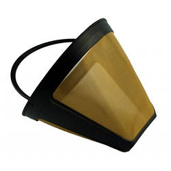 Фильтр многоразовый Worwo (металл) №4 для капельных кофеварок FCF03AB