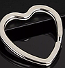 Брелок на ключі метал порода собака 2 дога сріблястий і золотистий, фото 6