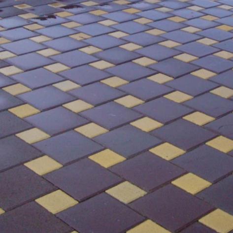"""Тротуарная плитка """"КВАДРАТ 250х250""""   6см, фото 2"""