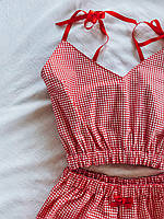 Жіноча піжама з бавовна, фото 3