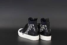 Жіночі кеди кросівки Walk'N'Dior Sneaker. ТОП репліка ААА класу., фото 2