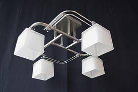Люстра стельова на 4 лампочки N 2819-4