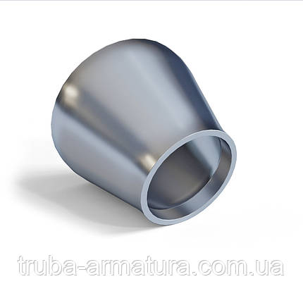 Переход оцинкованный стальной для труб 76x42 (65x32), фото 2