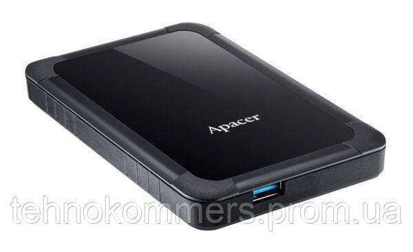 """Жорсткий диск зовнішній Apacer USB 3.1 Gen1 AC532 1TB 2,5"""" Чорний"""